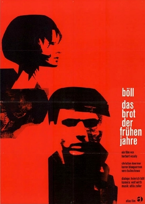 Das Brot der frühen Jahre - German Movie Poster (thumbnail)