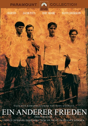 A Separate Peace - German DVD movie cover (thumbnail)