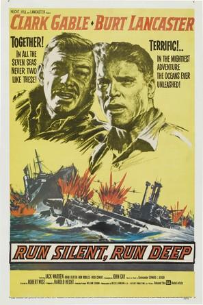 Run Silent Run Deep - Theatrical poster (thumbnail)