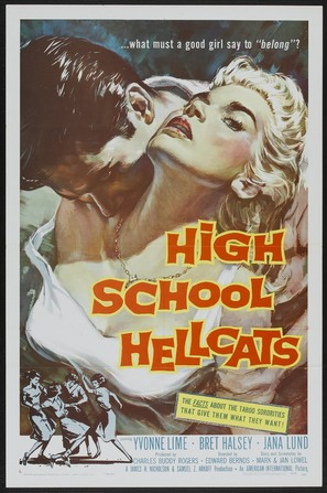 High School Hellcats - Theatrical poster (thumbnail)