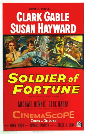 Soldier of Fortune - Movie Poster (thumbnail)