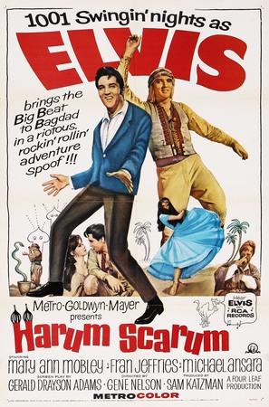 Harum Scarum - Movie Poster (thumbnail)