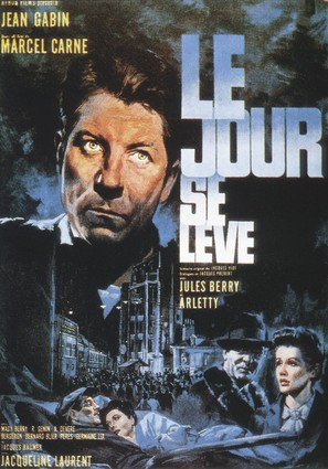 Le jour se lève - French Movie Poster (thumbnail)