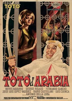 Totò d'Arabia - Italian Movie Poster (thumbnail)