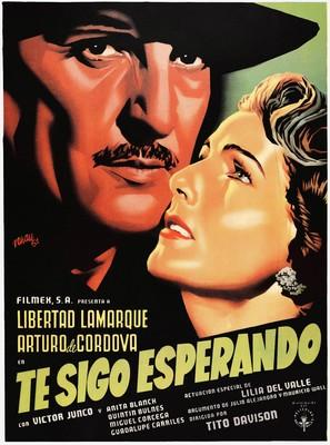 Te sigo esperando - Mexican Movie Poster (thumbnail)