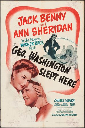George Washington Slept Here - Movie Poster (thumbnail)