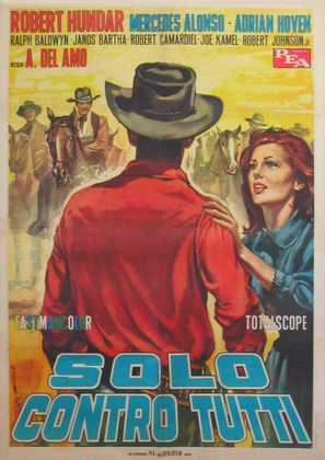 Solo contro tutti - Italian Movie Poster (thumbnail)