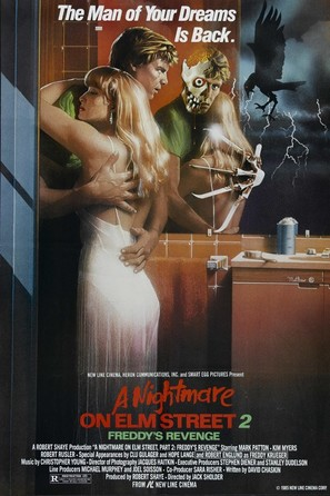 A Nightmare On Elm Street Part 2: Freddy's Revenge - Movie Poster (thumbnail)