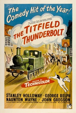 The Titfield Thunderbolt - British Movie Poster (thumbnail)