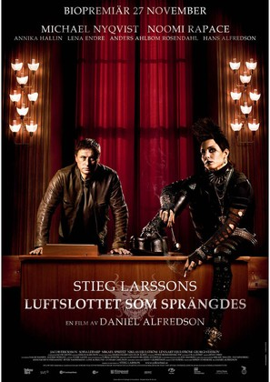 Luftslottet som sprängdes - Swedish Movie Poster (thumbnail)