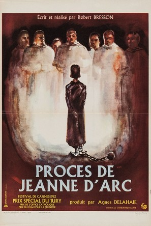 The Trial of Joan of Arc - French Movie Poster (thumbnail)