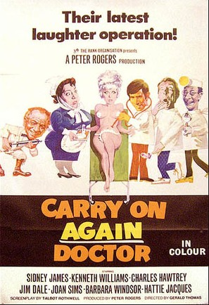 Carry On Again Doctor - Movie Poster (thumbnail)