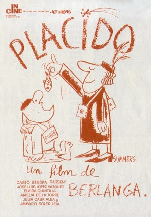Plácido - Spanish Movie Poster (thumbnail)