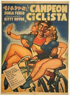 El campeón ciclista - Mexican Movie Poster (thumbnail)