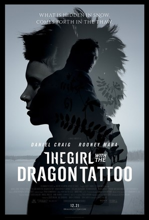The Girl with the Dragon Tattoo - Theatrical movie poster (thumbnail)