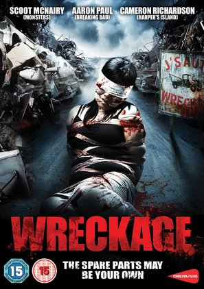 Wreckage - British Movie Cover (thumbnail)