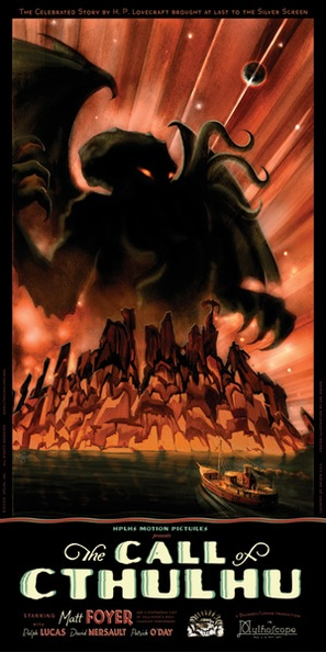 The Call of Cthulhu - Movie Poster (thumbnail)