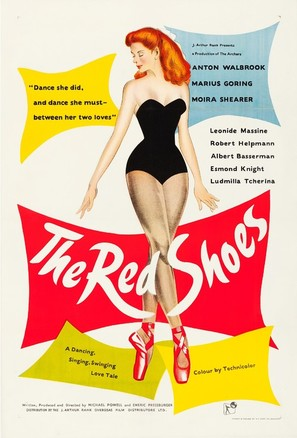 The Red Shoes - British Movie Poster (thumbnail)