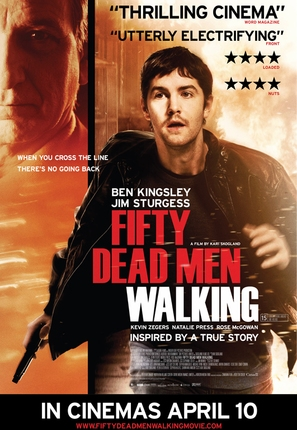 Fifty Dead Men Walking - British Movie Poster (thumbnail)