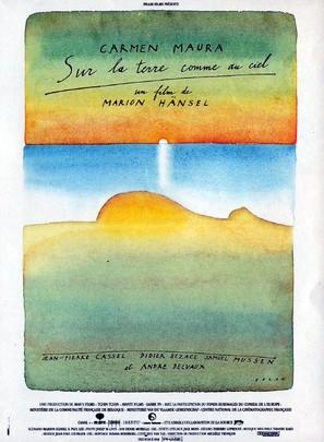 Sur la terre comme au ciel - French Movie Poster (thumbnail)