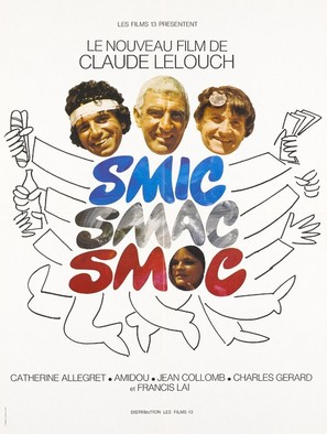 Smic Smac Smoc - French Movie Poster (thumbnail)