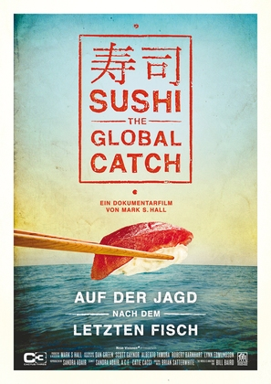Sushi: The Global Catch - German Movie Poster (thumbnail)