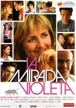 Mirada violeta, La - Spanish poster (thumbnail)