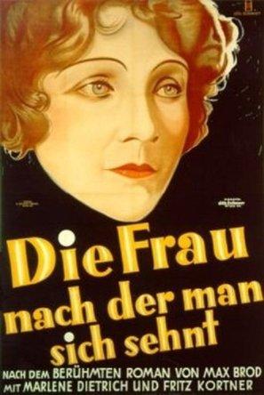 Die Frau, nach der man sich sehnt - German Movie Poster (thumbnail)