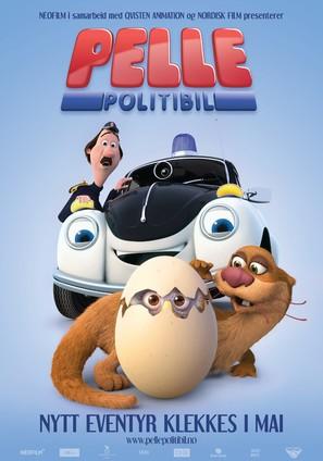 Pelle Politibil på sporet - Norwegian Movie Poster (thumbnail)