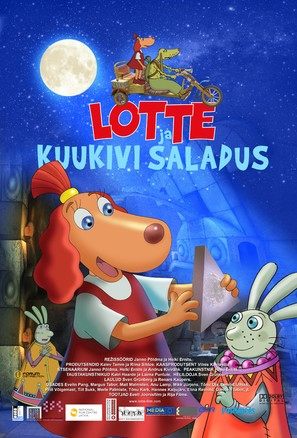 Lotte ja kuukivi saladus - Estonian Movie Poster (thumbnail)