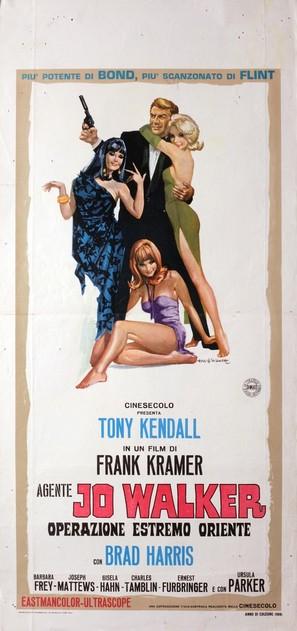Kommissar X - In den Klauen des goldenen Drachen - Italian Movie Poster (thumbnail)