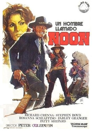 Un hombre llamado Noon - Spanish Movie Poster (thumbnail)