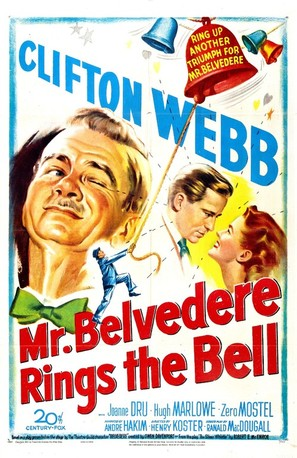 Mr. Belvedere Rings the Bell - Movie Poster (thumbnail)
