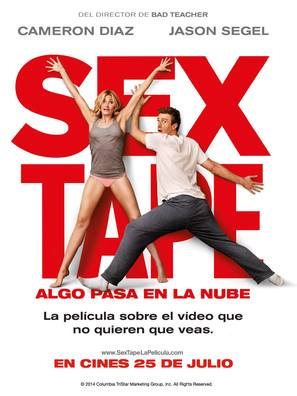 Sex Tape - Spanish Movie Poster (thumbnail)