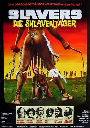 Slavers - German Movie Poster (thumbnail)