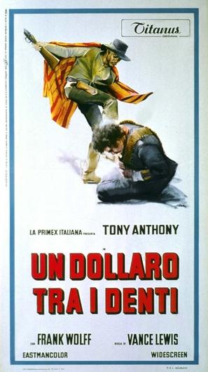 Un dollaro tra i denti - Italian Movie Poster (thumbnail)