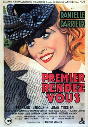 Premier rendez-vous - French Movie Poster (thumbnail)