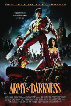 Army Of Darkness - Theatrical movie poster (thumbnail)