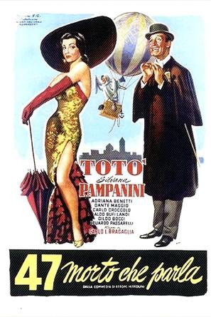 47 morto che parla - Italian Movie Poster (thumbnail)