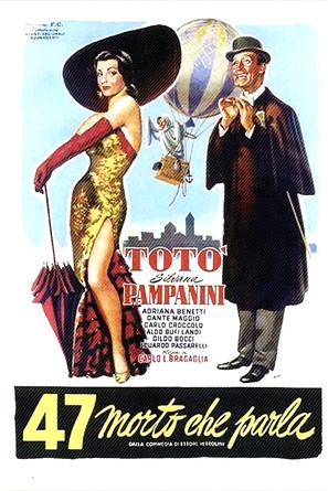 47 morto che parla - Italian Movie Poster (thumbnail)