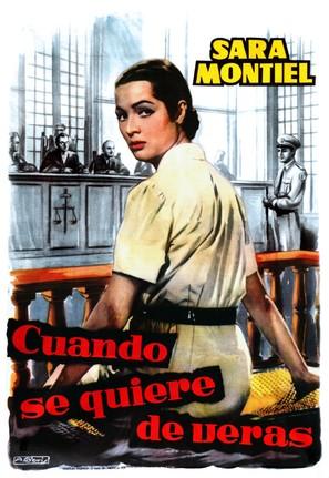 Frente al pecado de ayer - Spanish Movie Poster (thumbnail)