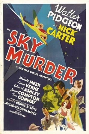 Sky Murder - Movie Poster (thumbnail)