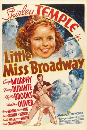 Little Miss Broadway - Movie Poster (thumbnail)