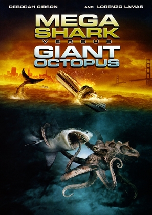 Mega Shark vs. Giant Octopus - Movie Cover (thumbnail)