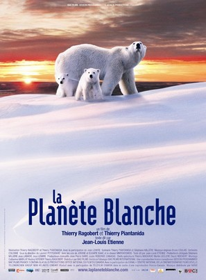 La planète blanche - French Movie Poster (thumbnail)