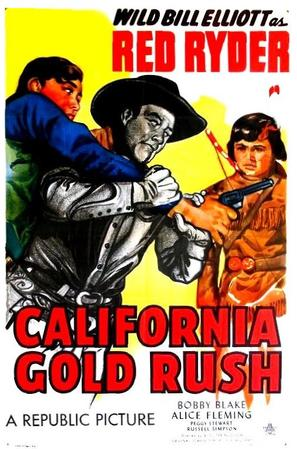 California Gold Rush - Movie Poster (thumbnail)