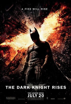The Dark Knight Rises - Movie Poster (thumbnail)