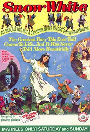 Schneewittchen und die sieben Zwerge - Movie Poster (thumbnail)