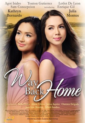 Way Back Home - Philippine Movie Poster (thumbnail)