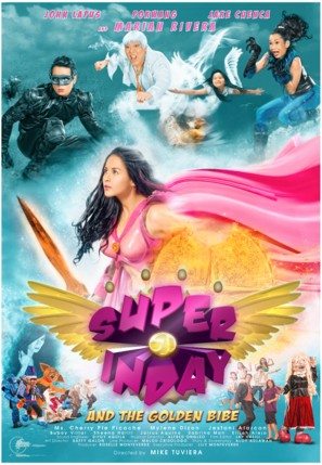 Super Inday and the Golden Bibe - Philippine Movie Poster (thumbnail)